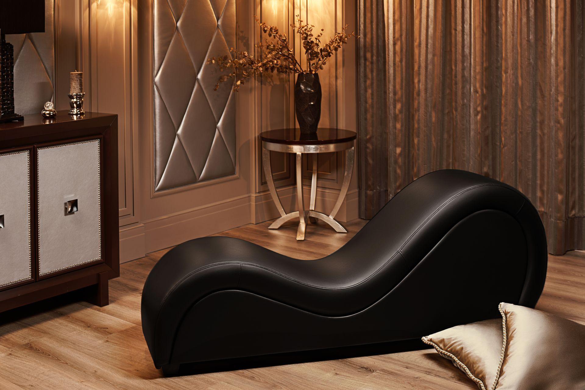 Divan tantra black practic pinterest sillas separadores de ambiente y novios boda - Sillon tantra posiciones ...