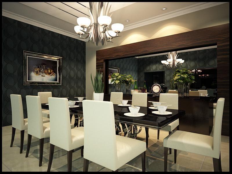 Decoración de Salas y Comedores Minimalistas7 deco Pinterest - comedores elegantes