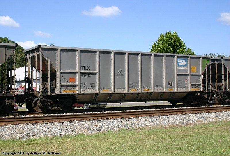 Coal hopper railcar Trinity Industries Leasing Company