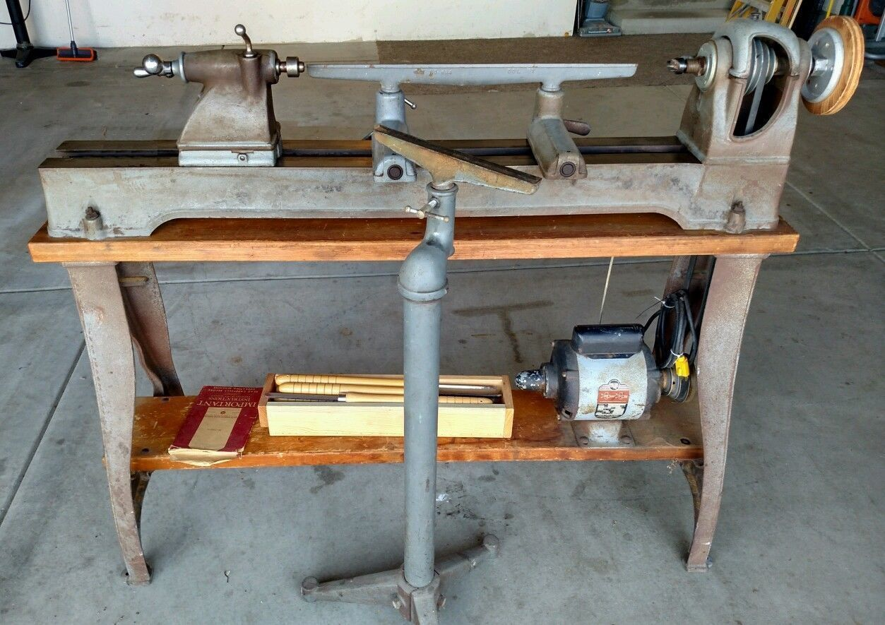 Delta-Rockwell model 1460 wood lathe