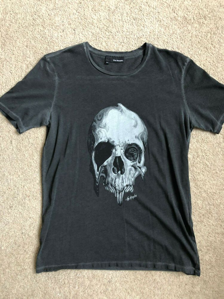10ba65b6fb Kooples T Shirt Top - Skull - Size Extra Small XS #fashion #clothing ...