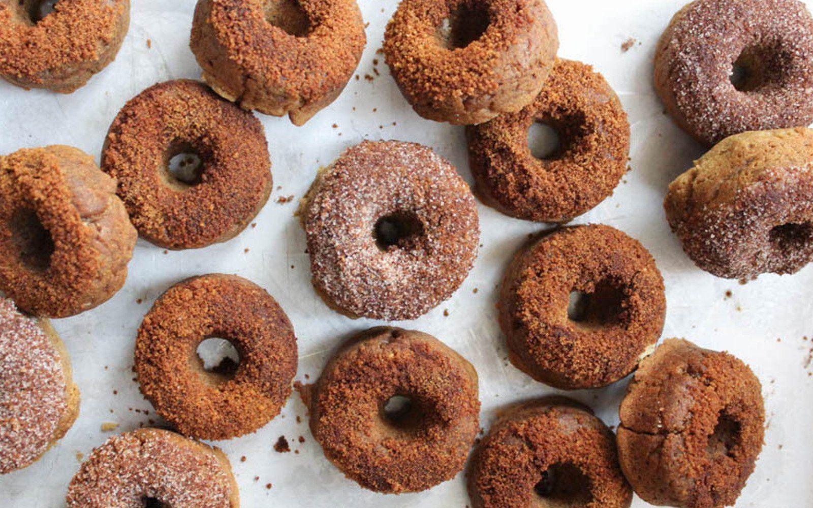 Apple Cider Protein Doughnuts [Vegan, GlutenFree