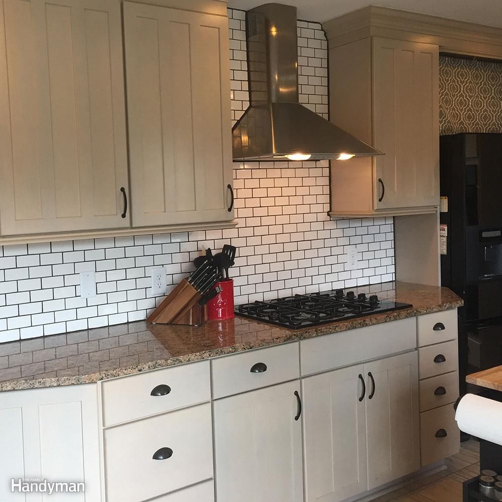 Dos And Don Ts From A First Time Diy Subway Tile Backsplash Install Subway Tile Backsplash Kitchen Diy Backsplash Diy Kitchen Backsplash