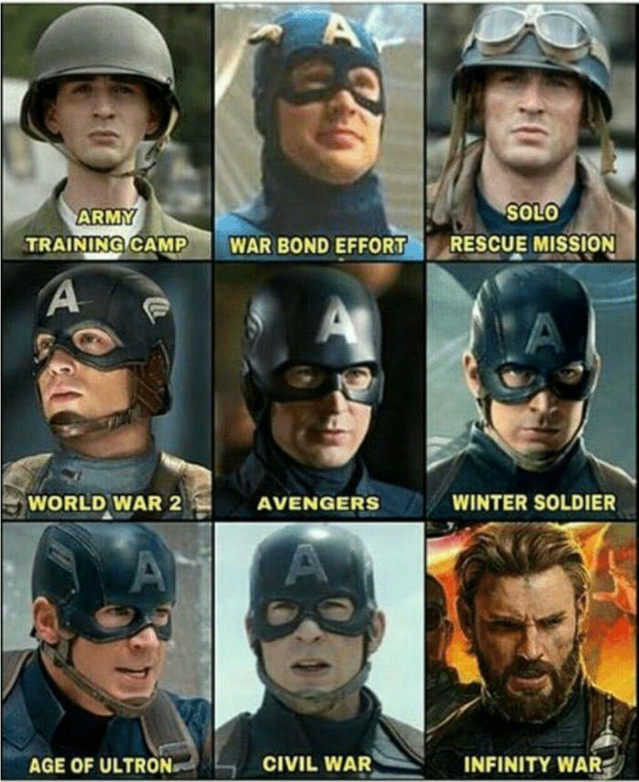Winter Soldier look is still my favourite