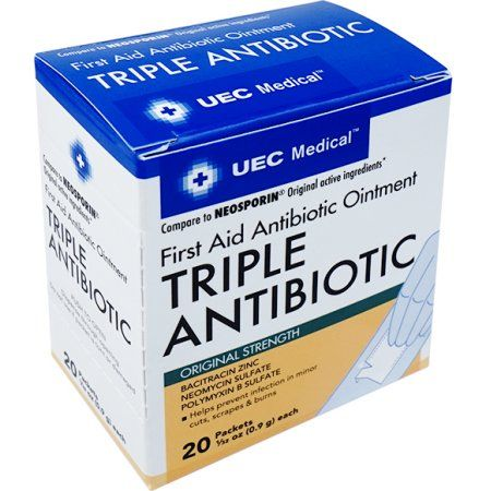 UEC Medical Triple Antibiotic 0 9g 20ct | Products | Medical