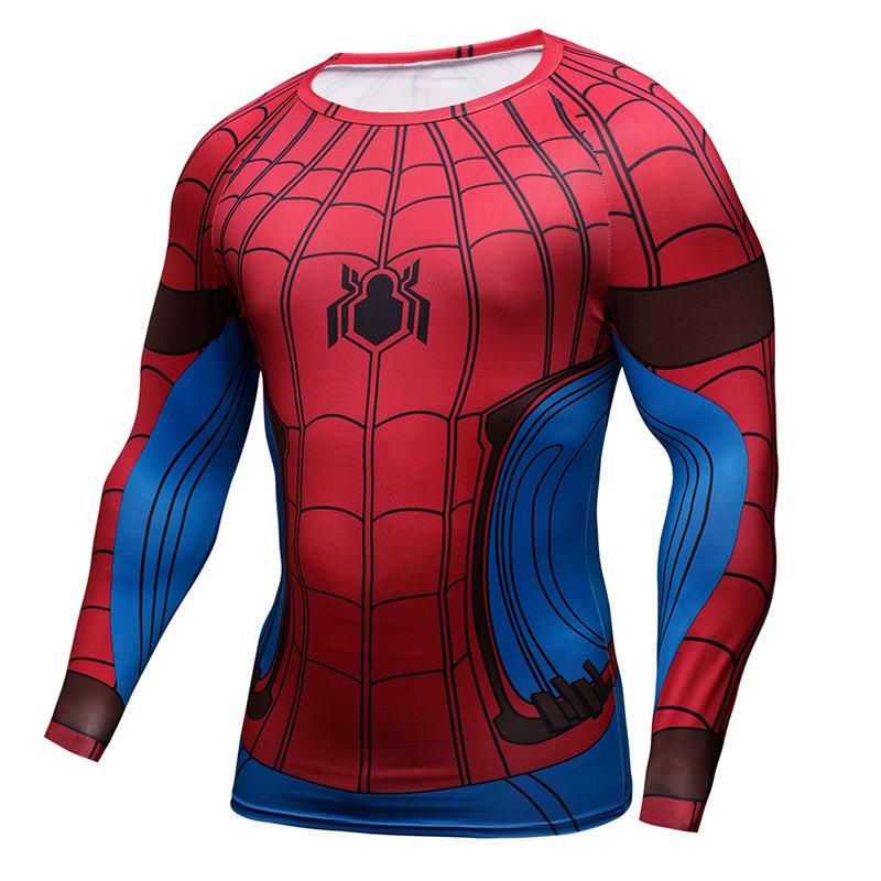 71ddc9491667 Spider-Man Homecoming (Long Sleeve) Shirt Outfit, Tights Outfit, Cool Shirts