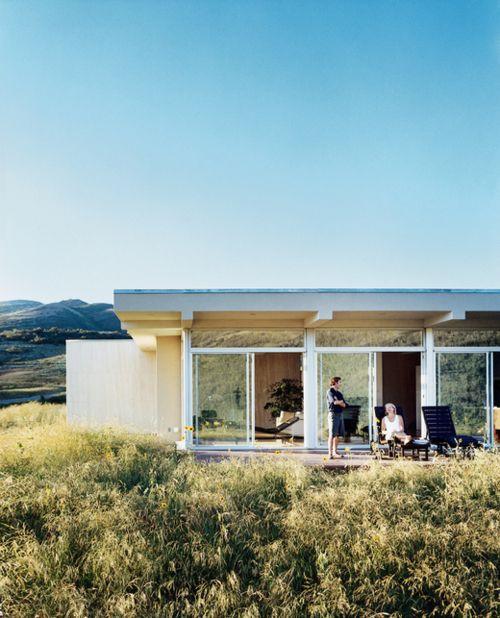 Contemporaine et discrète Maisons des champs Pinterest Discret - maison toit en verre