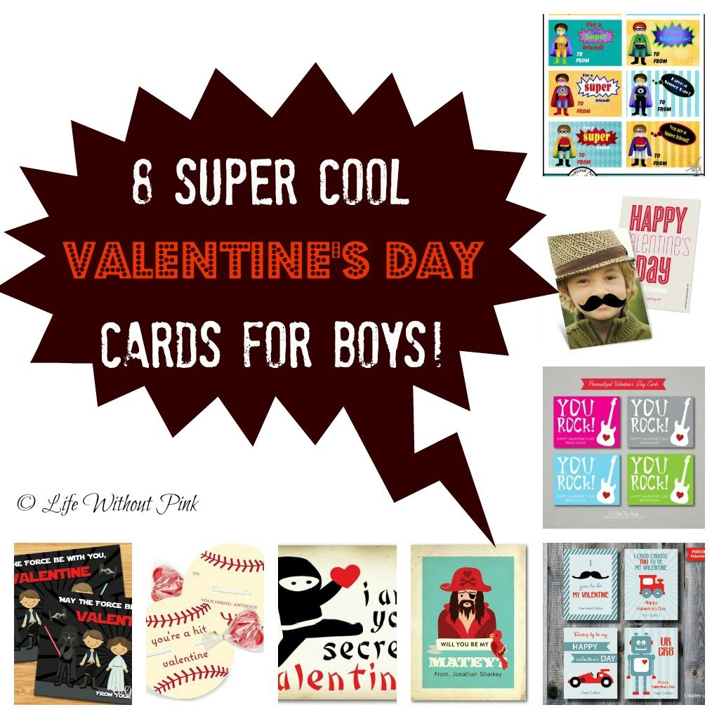 8 super cool valentines day cards for boys – Cool Valentine Card