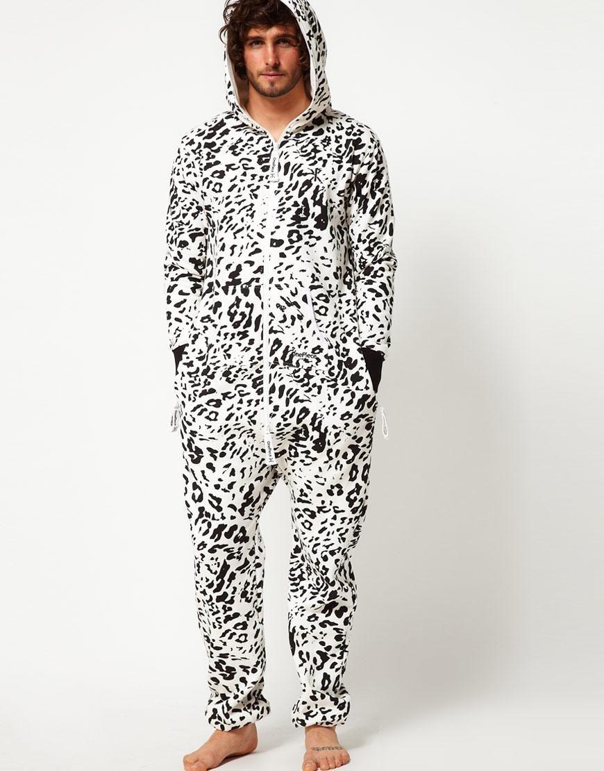 b36d116891ca OnePiece Snow Leopard Onesie
