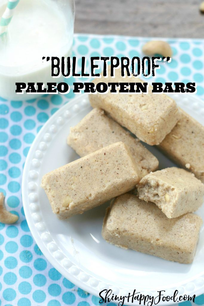 Bulletproof Paleo Protein Bars Recipe Paleo Protein Bars Paleo Protein Protein Bars Homemade
