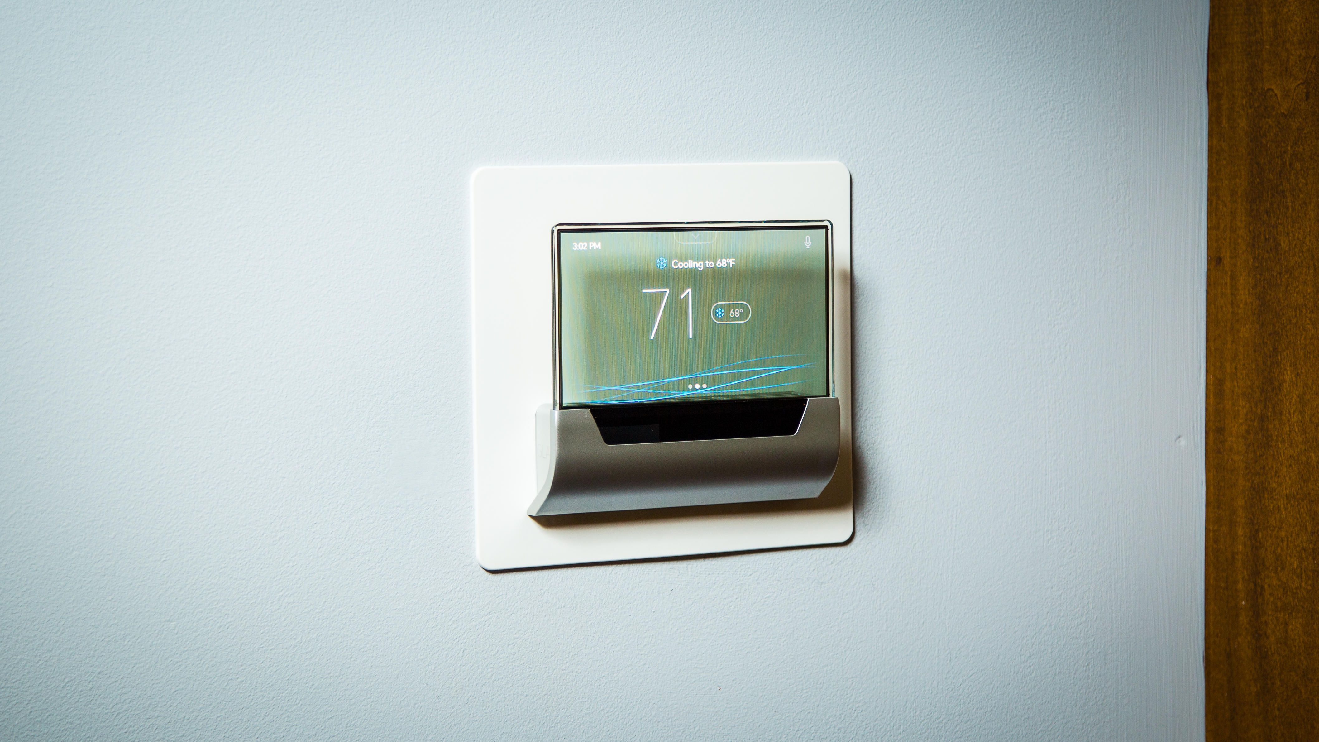 Costly seethrough Cortana thermostat is neat, but not for