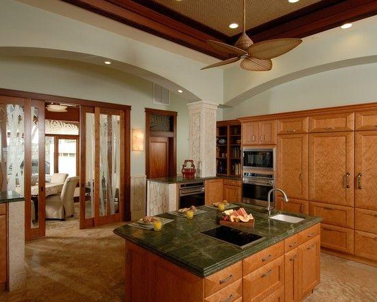Designer Challenge Winner   Paiko Lagoon Oasis   Tropical   Kitchen    Hawaii   By Archipelago Hawaii Luxury Home Designs
