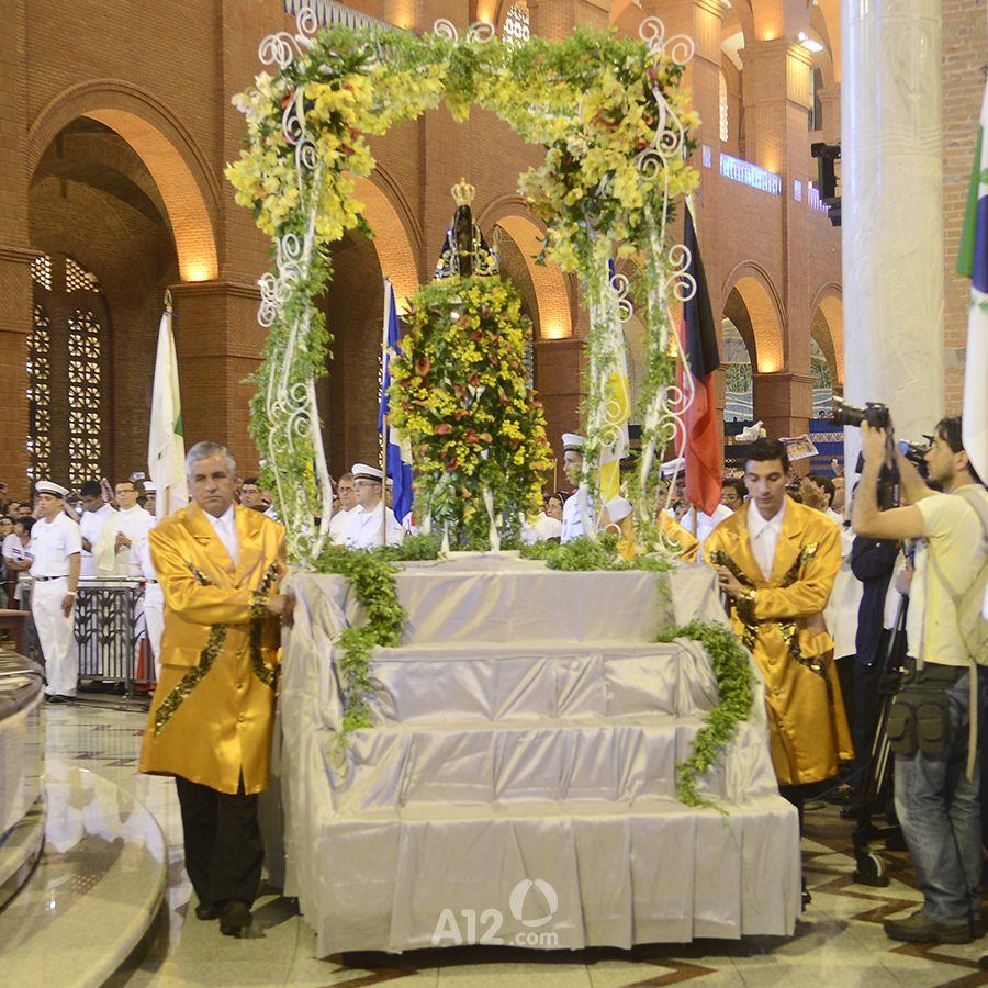 Carro Andor 2014 Missa Solene Em Honra Nossa Senhora Aparecida