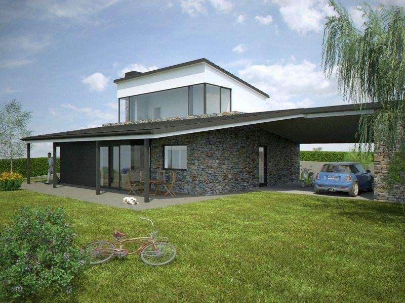 resultado de imagen de arquitectura moderna con tejados On tejados casas modernas