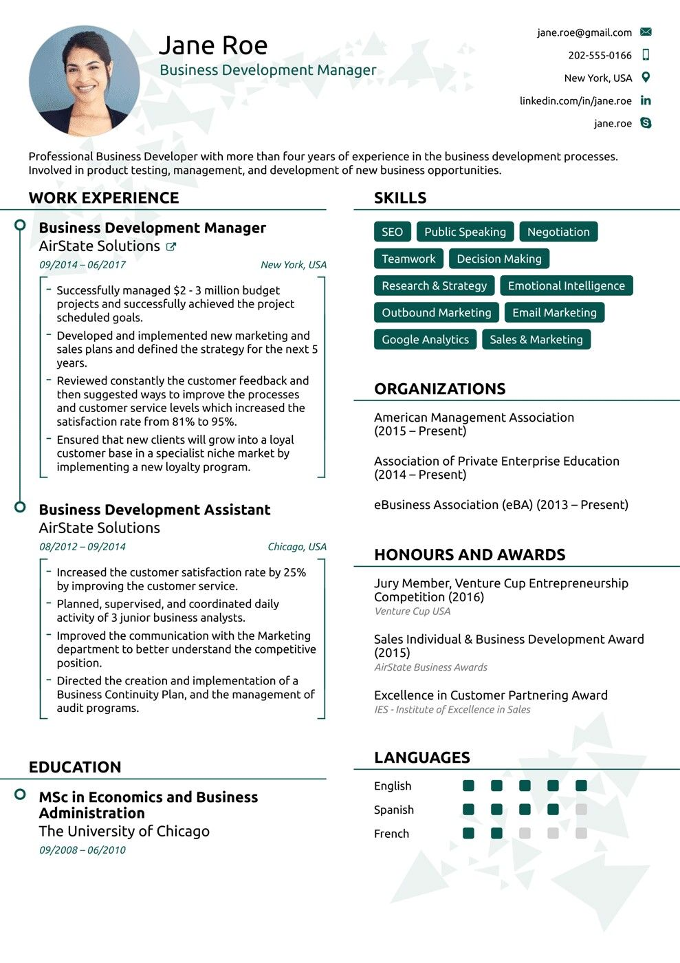Pin by Gel Merillo on Cv template Online resume template