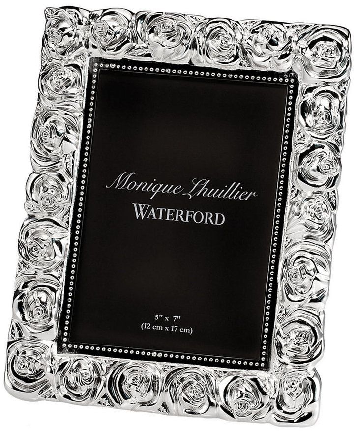 Monique Lhuillier Waterford Picture Frame, Sunday Rose 5\