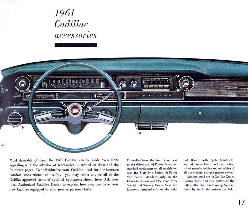 1961 Cadillac Brochure | 1961 DeVille Specs, Colors, Facts, History ...