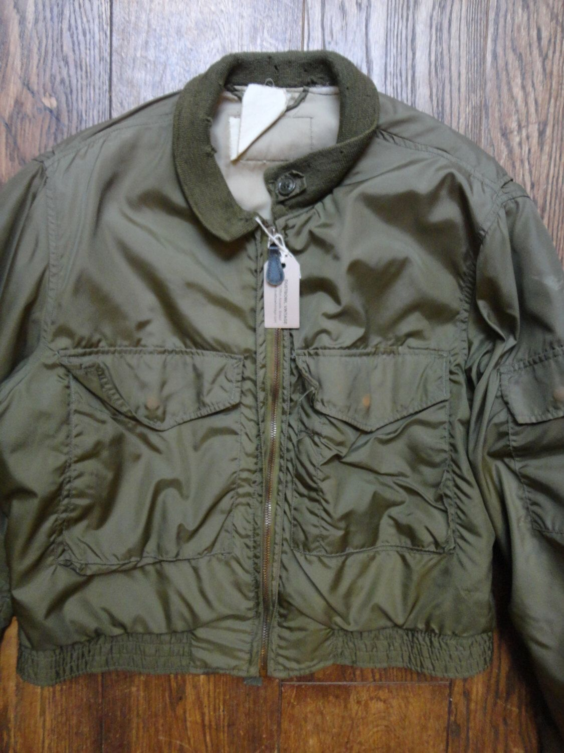 Vintage 1950s 50s USN US Navy Type G-8 G8 WEP flight jacket suit ...
