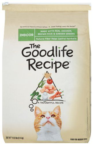 25 24 25 24 The Goodlife Recipe With Chicken Food For Indoor Cats 14 Pound Bag The Goodlife Recipe Fo Dry Cat Food Cat Food Coupons Chicken And Brown Rice