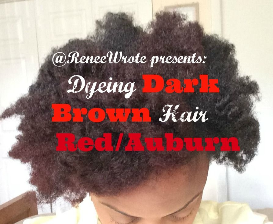This Video Shows The Process And Results Of Coloring Dark Brown Hair