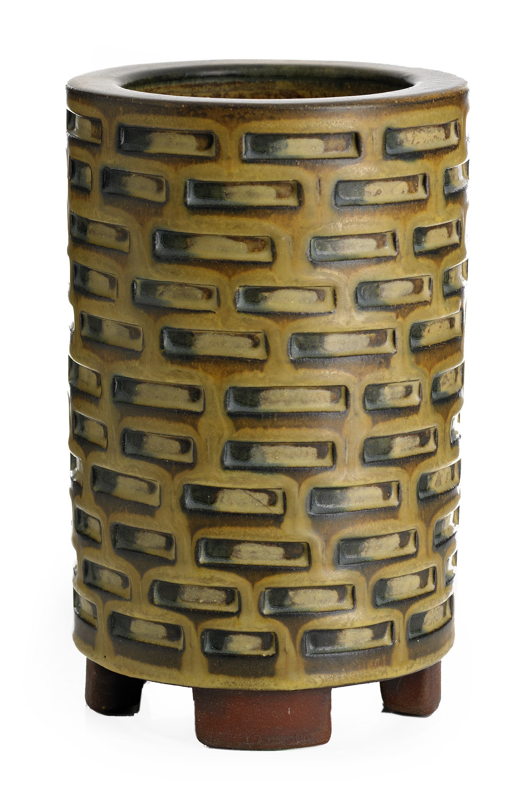 ** Wilhelm Kåge (Swedish, 1889-1960) Gustavsberg Studio, Glaze Decorated Stoneware.