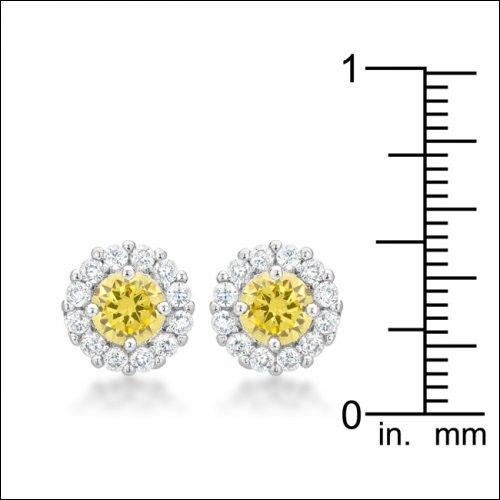 Bella Bridal Earrings In Yellow #J10821 (Item number: 160, End Time : Feb. 20, 2015 17:53:25) - 2haifa.com