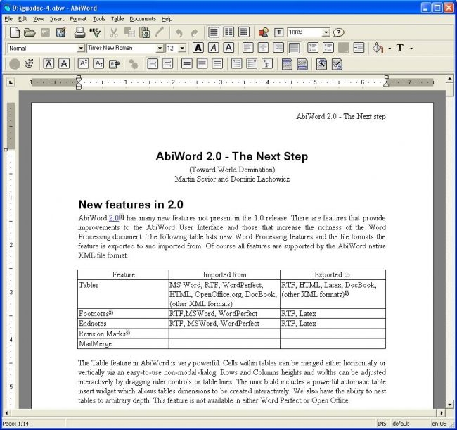 resume layout word