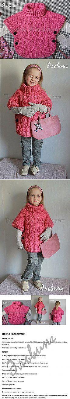 Poncho para las niñas