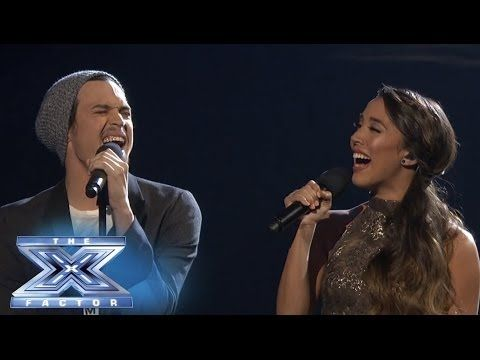 Carlito Olivero Joins Alex Sierra In A Duet Of Falling Slowly The X Factor Usa 2013 Alex And Sierra Singing Videos Cover Songs