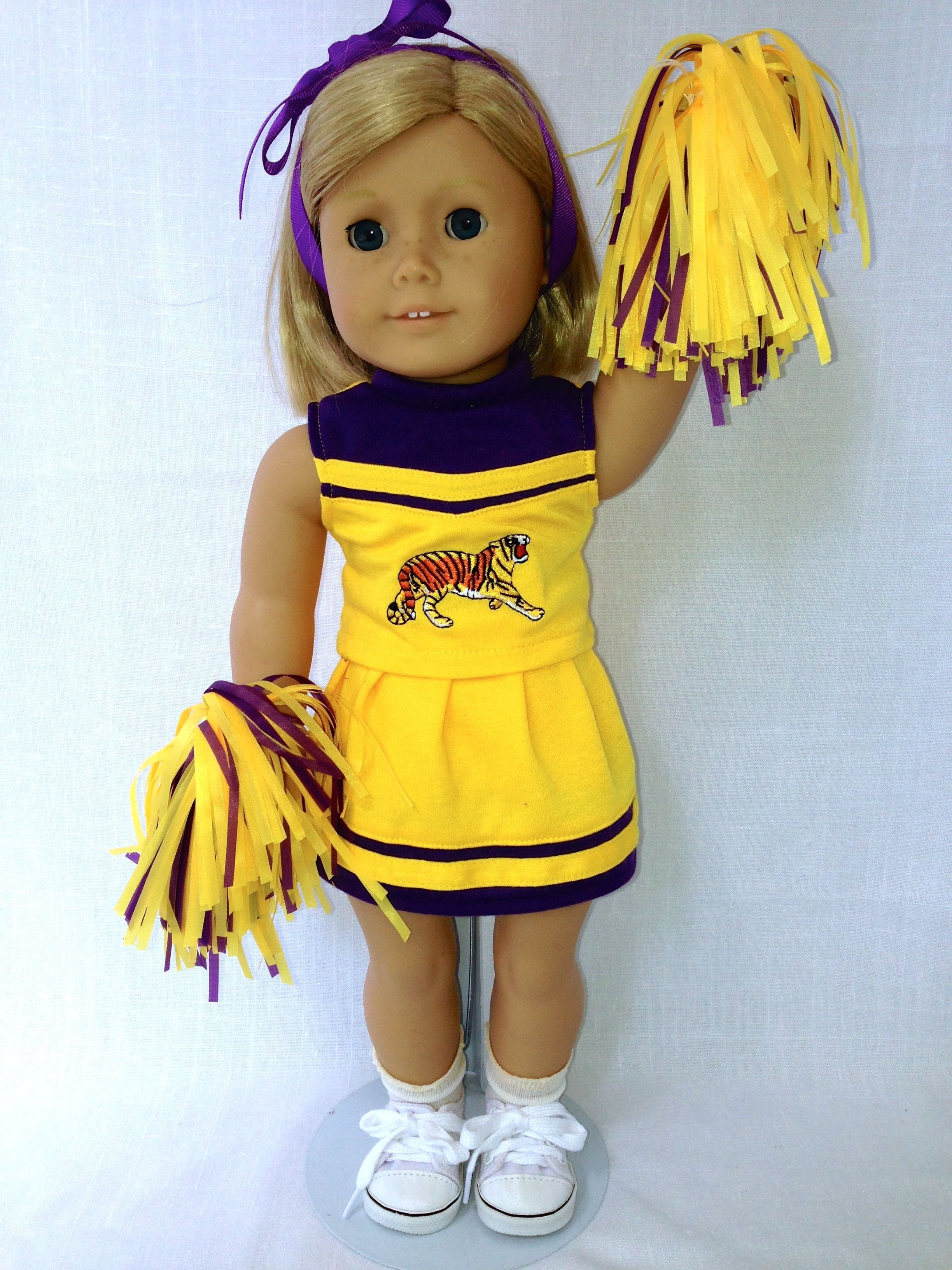 LSU Cheerleader outfit available at www.heritageclothesline.com #18inchcheerleaderclothes LSU Cheerleader outfit available at www.heritageclothesline.com #18inchcheerleaderclothes LSU Cheerleader outfit available at www.heritageclothesline.com #18inchcheerleaderclothes LSU Cheerleader outfit available at www.heritageclothesline.com #18inchcheerleaderclothes