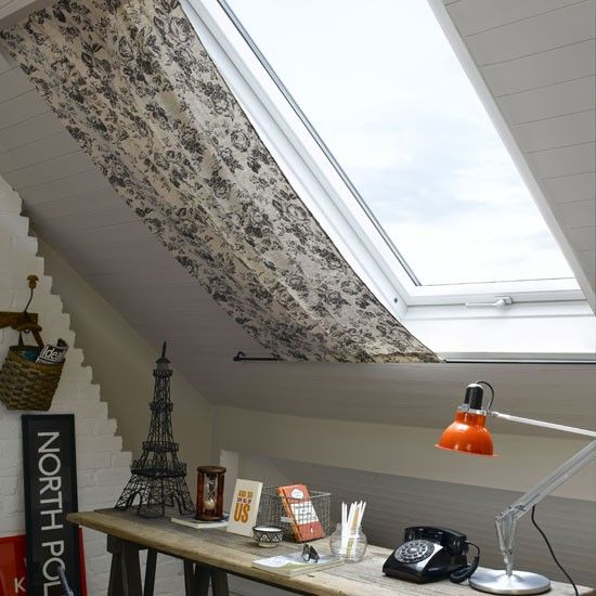 Curtain For Velux Window Problem Windows Loft Office