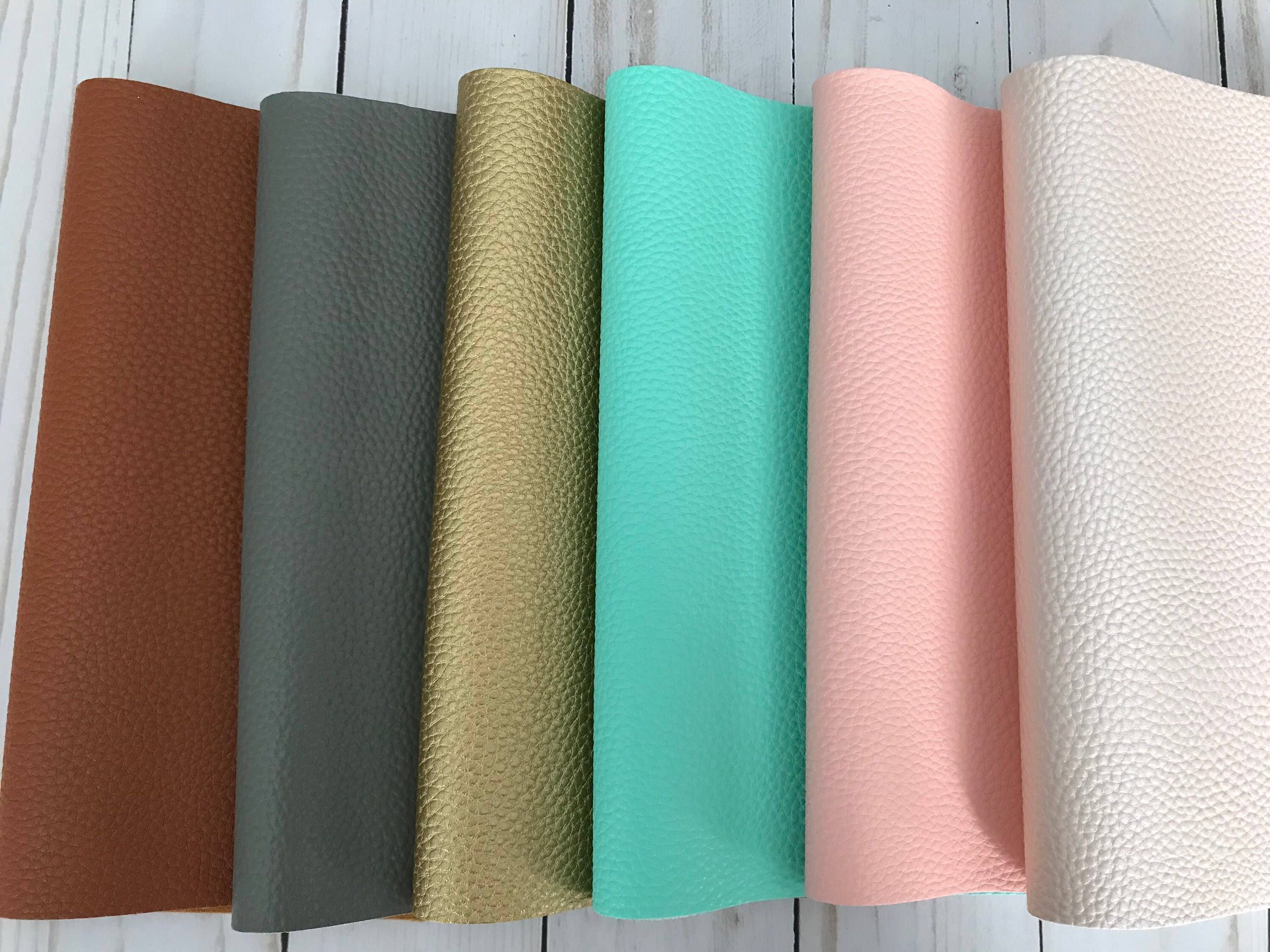 Faux Leather Sheets Bow Supplies Craft 2 Sizes 8x11