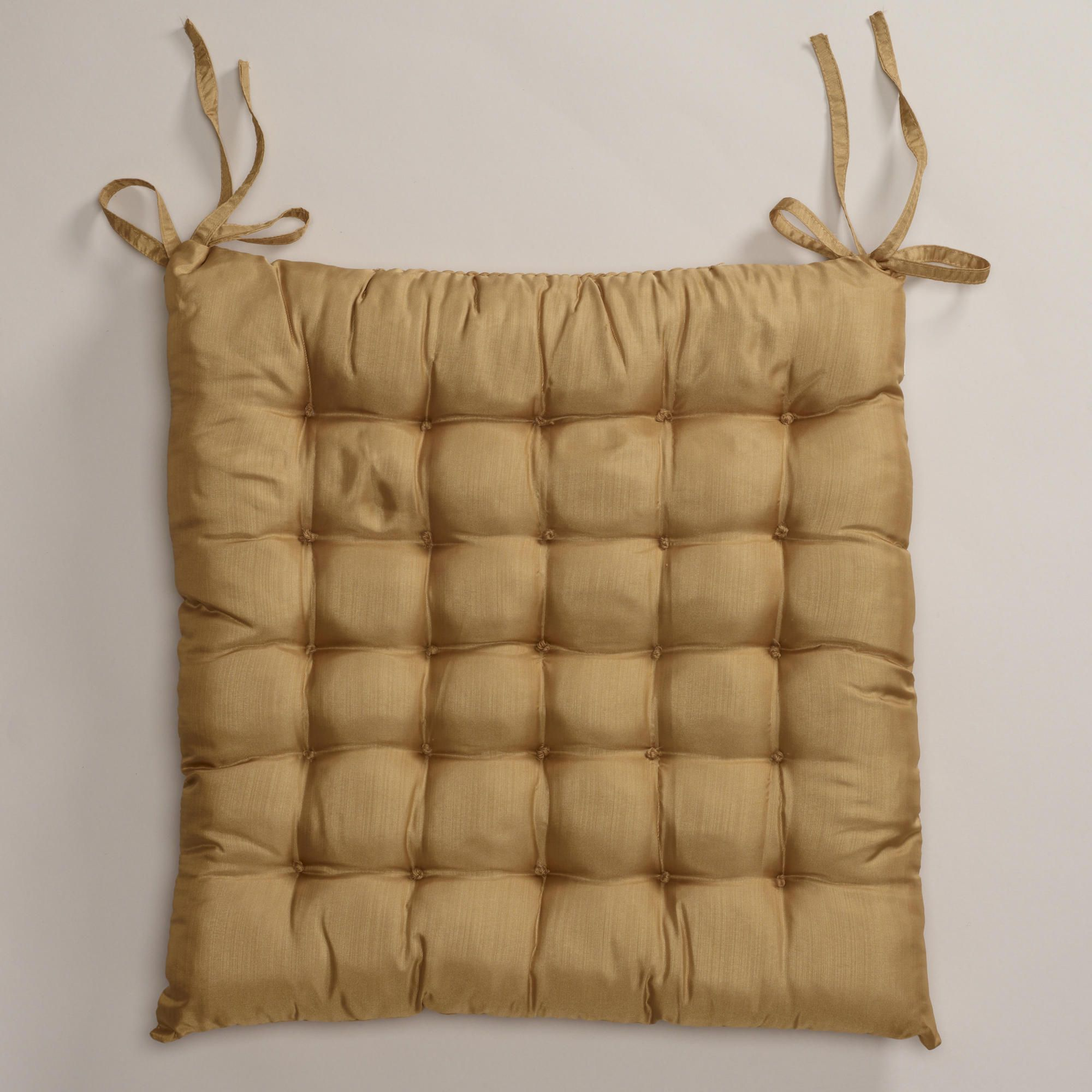 Gold zen chair cushion world market office pinterest