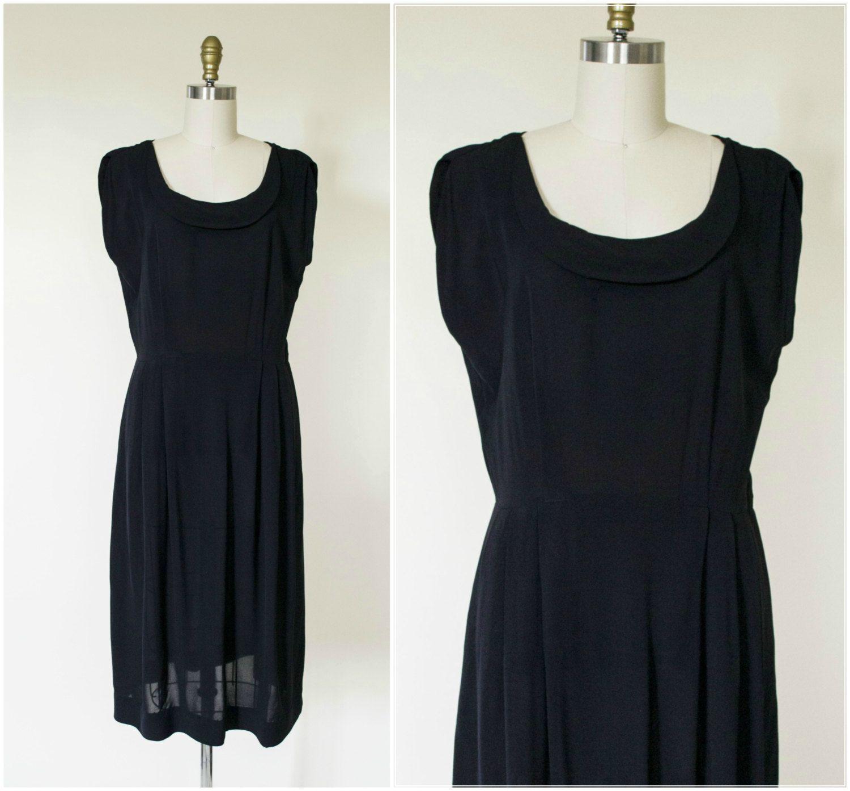 S evening dress s black rayon dress little black dress