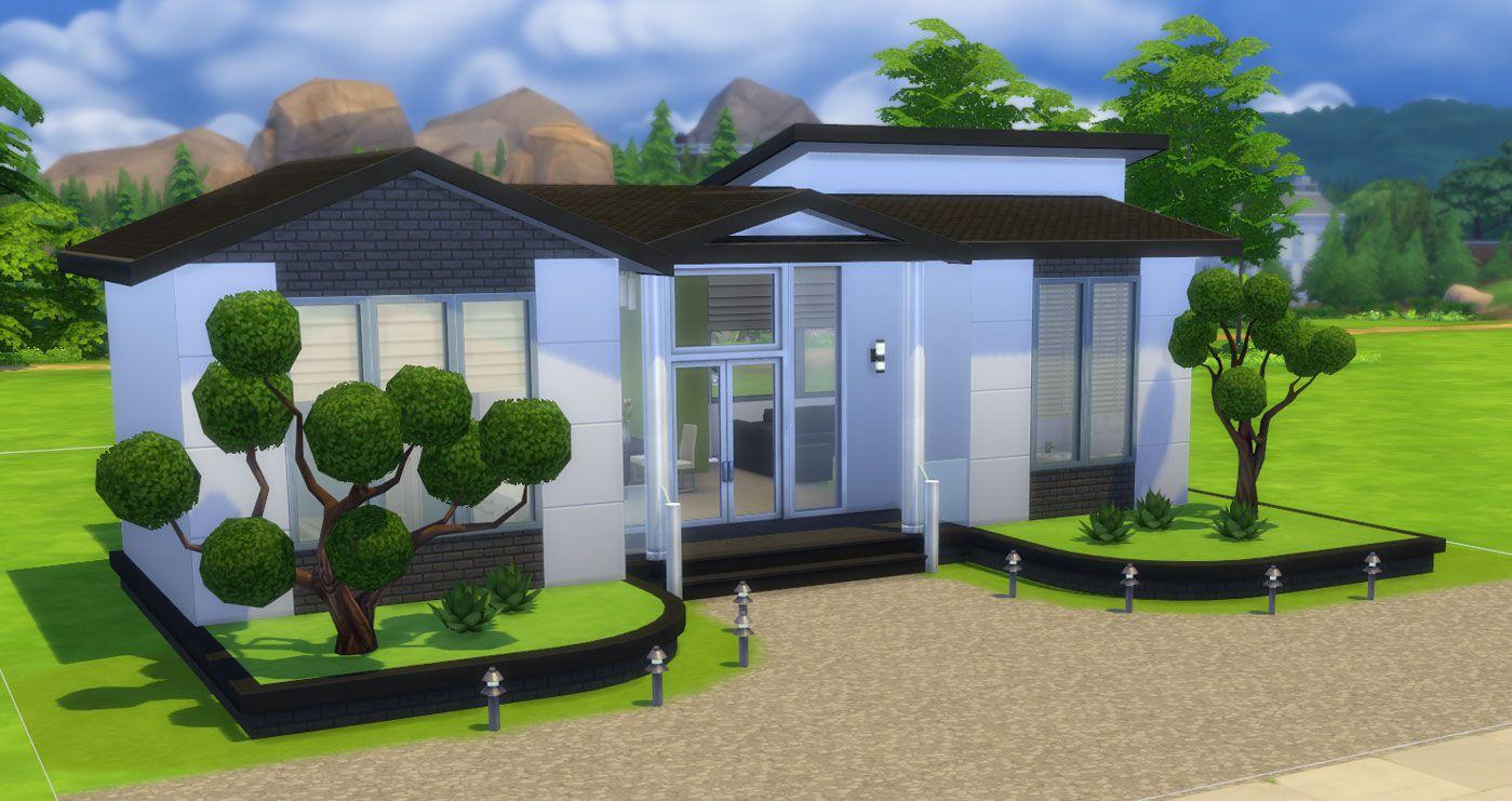 pin van sims online op the sims 4 houses architektur. Black Bedroom Furniture Sets. Home Design Ideas