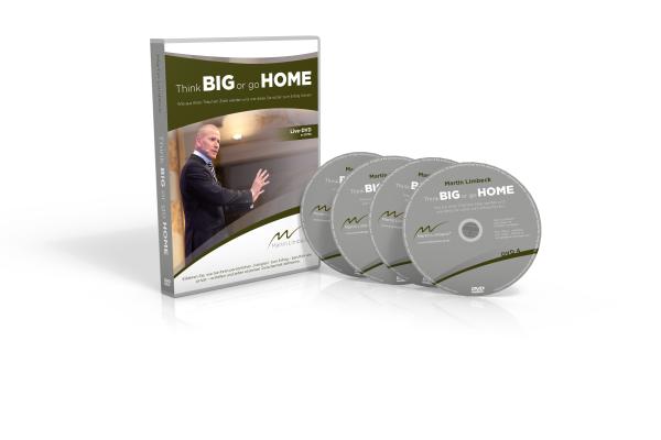 """Ab sofort erhältlich im Martin Limbeck Shop: Think BIG or go HOME - Der Live-Mitschnitt auf DVD für nur € 57,70. http://shop.managementtraining.de/think-big-or-go-home-live-dvd Erfahren Sie, wie Sie Ihren persönlichen """"Fahrplan"""" zum Erfolg - beruflich wie privat - erstellen und jeden einzelnen Zwischenhalt definieren. Und nicht vergessen: Sichern Sie sich JETZT Ihre Teilnahme beim Zieletag am 9.12.2017: http://www.think-big-or-go-home.de/"""