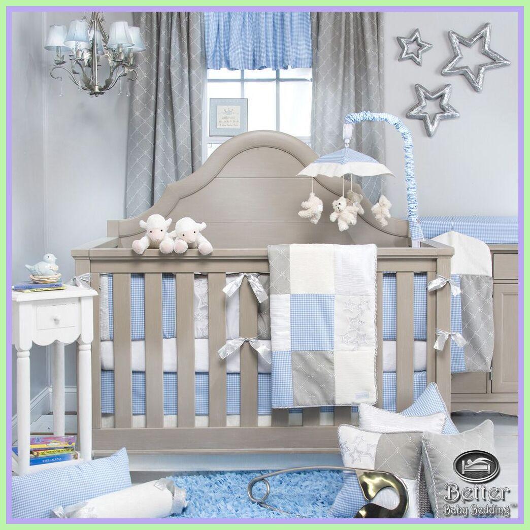 Pin On Baby Boy Crib Blue