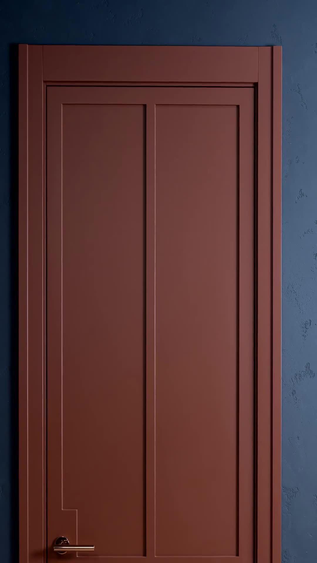 Enamel doors.