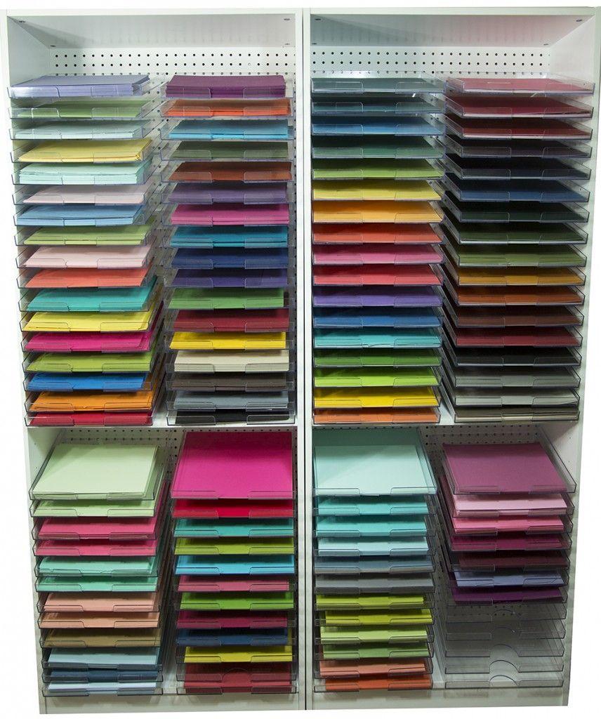 Best 25 Paper Storage Ideas On Pinterest Scrapbook