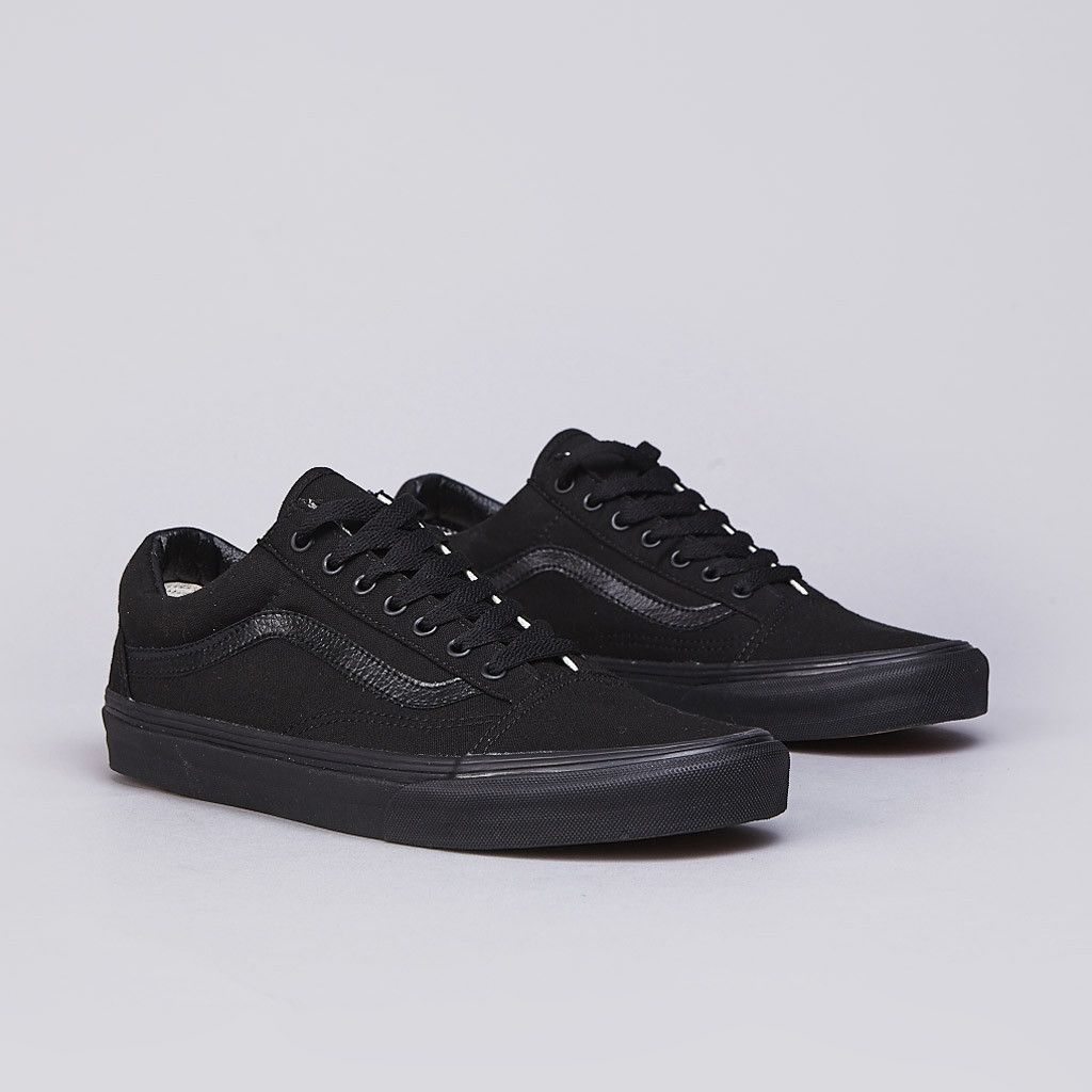 Flatspot Vans Old Skool Black Black | Old skool black