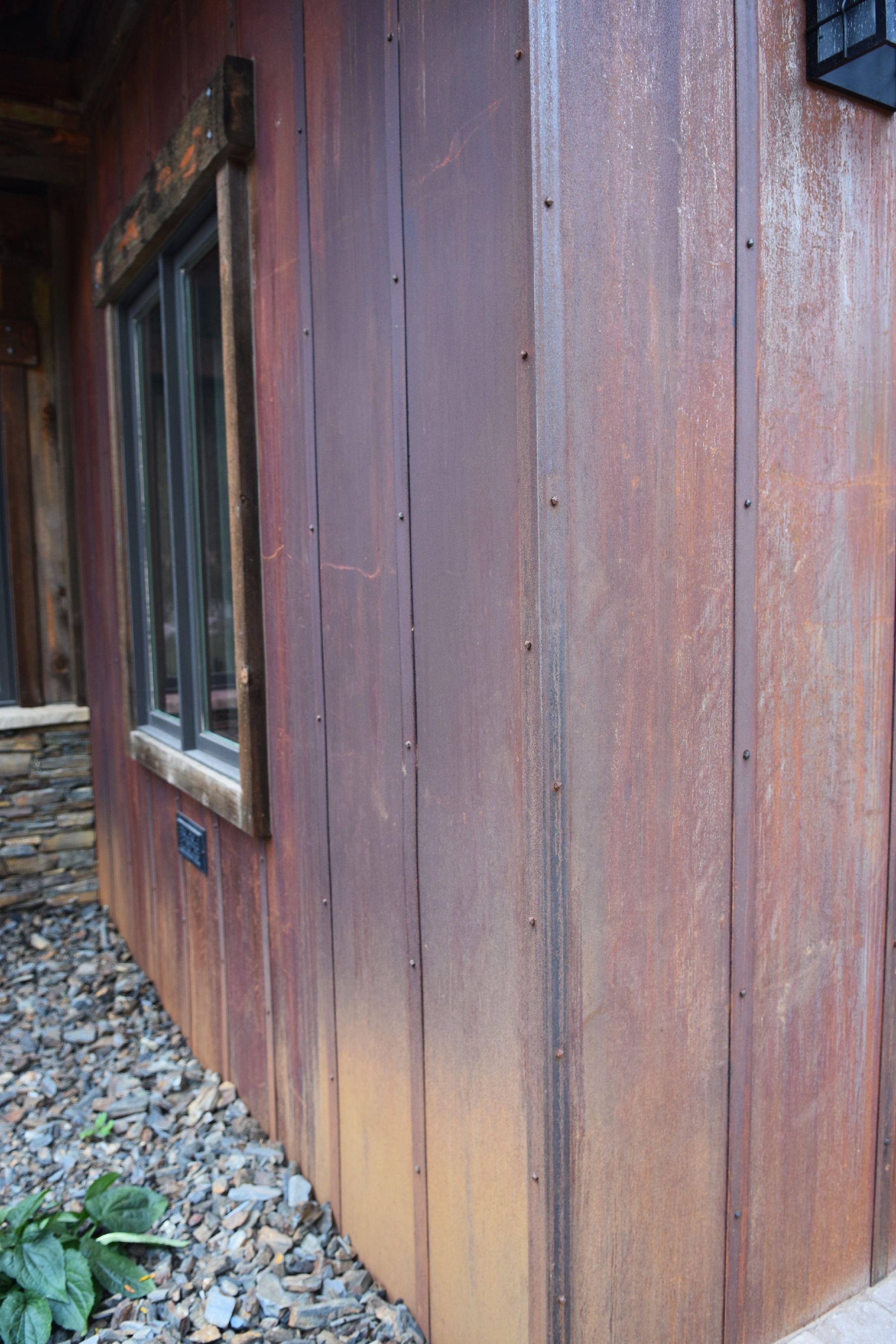 Custom Metal Brings A Dream Home To Life Metal Siding House Corrugated Metal Siding Metal Siding