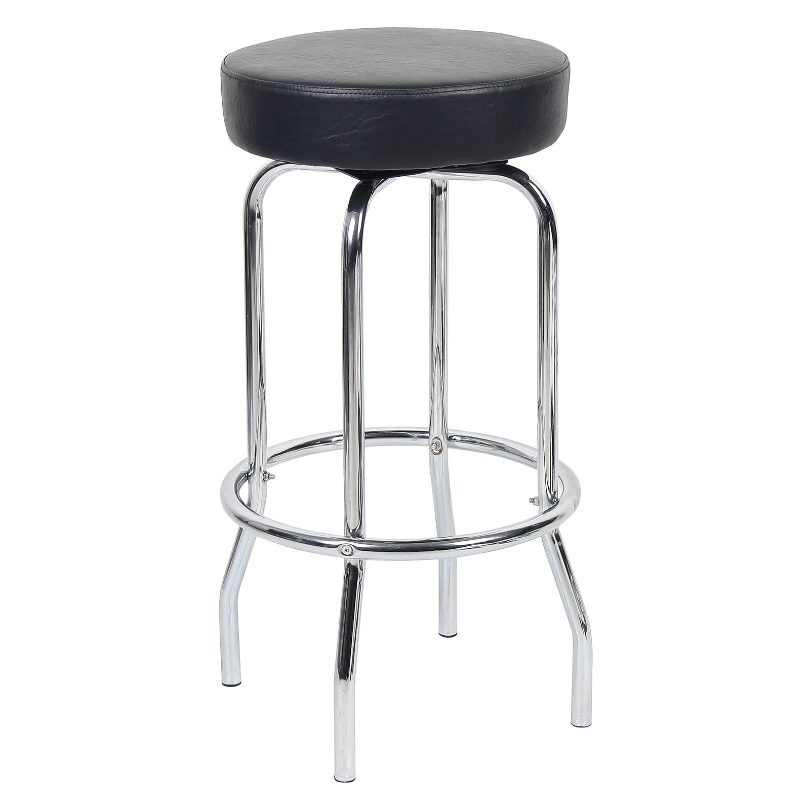 Stupendous Boss Bar Height Chrome And Black Retro Diner Stool In 2019 Ocoug Best Dining Table And Chair Ideas Images Ocougorg