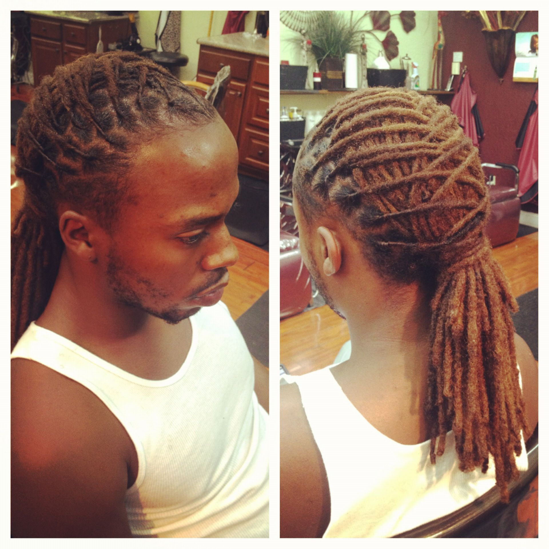 Male Loc Style My work as a LOCTICIAN Pinterest