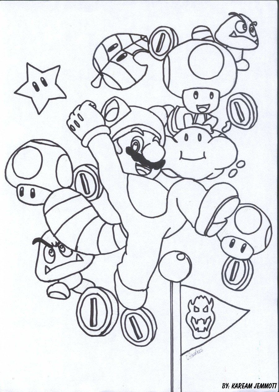 38+ Cat luigi coloring pages ideas in 2021