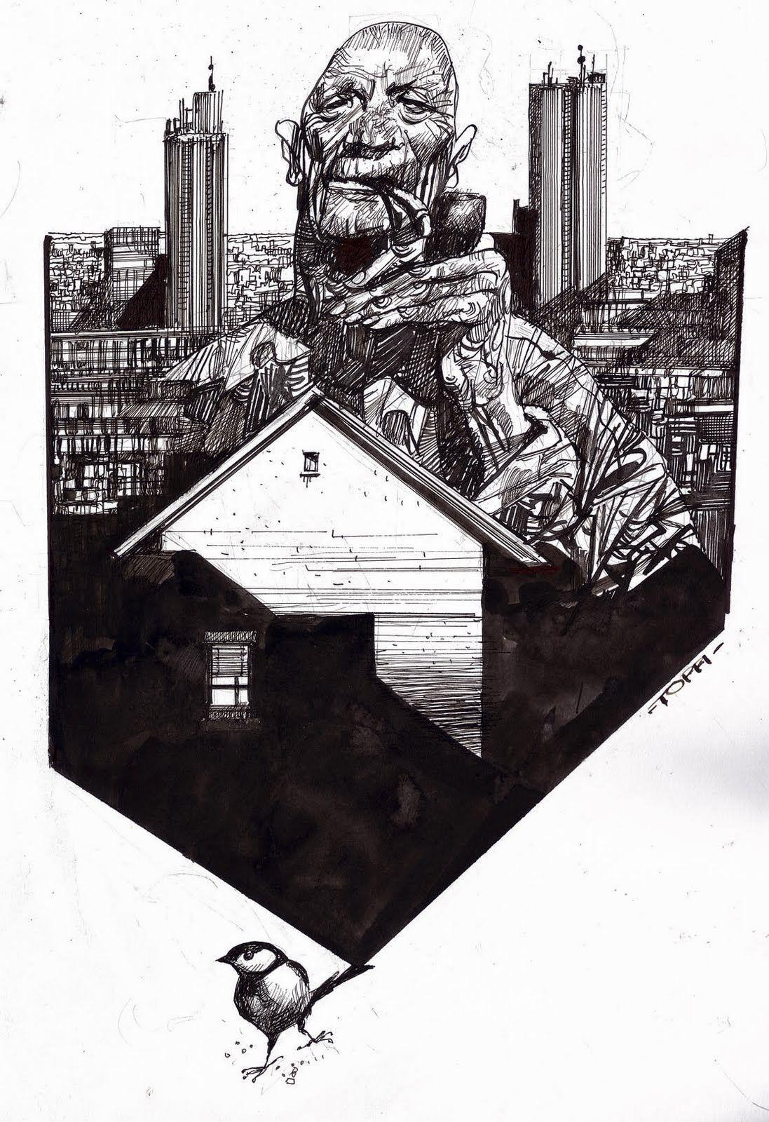 Desde El Nibelheim El Coleccionista De Sergio Toppi Editado Por Ninth Ediciones Y Entrevista En 2020 Ilustracion Conceptual Como Dibujar Cosas Arte Inspirador
