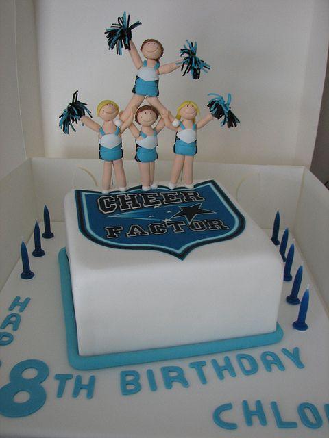 Cheerleading Cake Cakes Cheerleader Pinterest Cheerleading