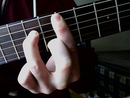 Am7 Shape Barre Chord Guitar Lessons Pinterest Guitars And