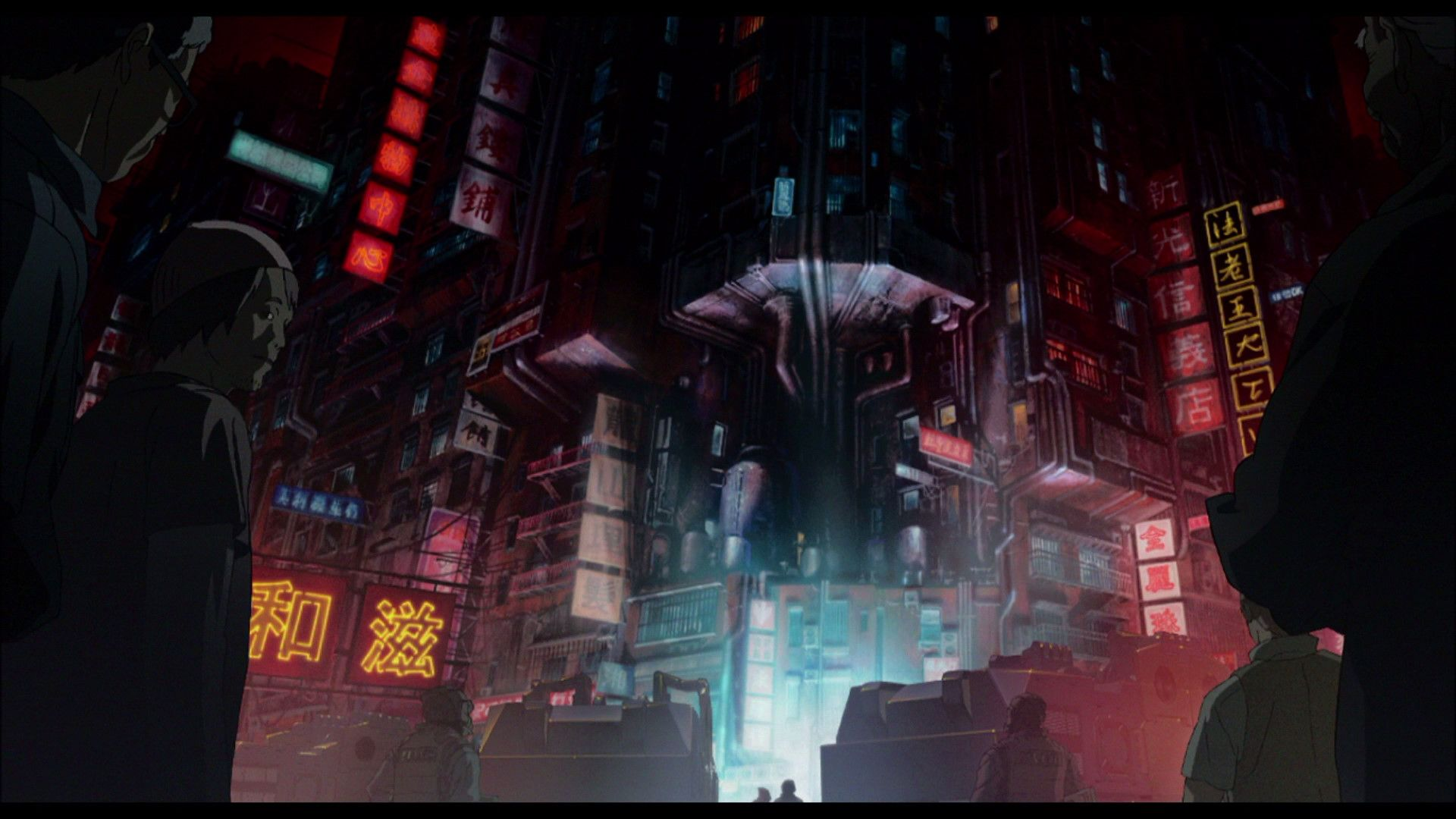 Ghost In The Shell 1995 Looks Like Kowloon 20 Years Later If