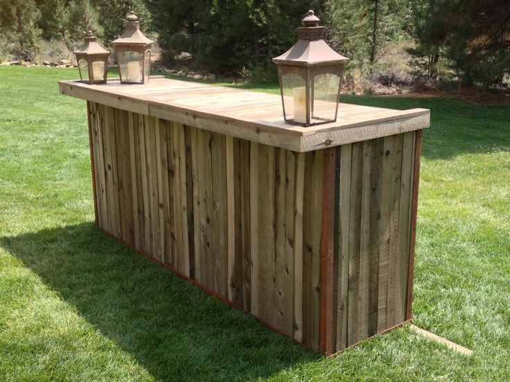 Mobile Bar Made From Wooden Pallets Google Search Ideas For The