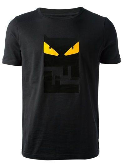 Fendi Owl Logo Print T Shirt With Images Designer Clothes For